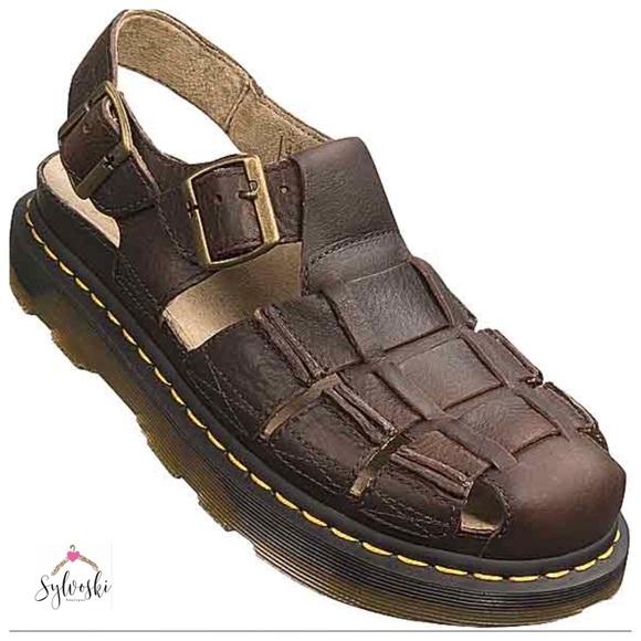 doc martens closed toe sandals